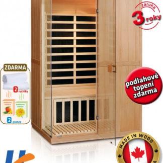 V-Garden Infrasauna DeLuxe 2200 Carbon
