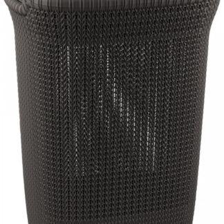 Curver Koš na prádlo KNIT 57L - hnědý