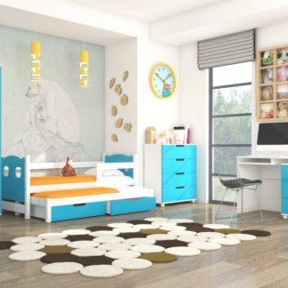 Modrý nábytek dětský pokoj Roslin