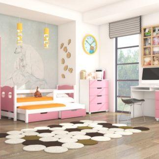 Růžový pokoj pro holky Roslin