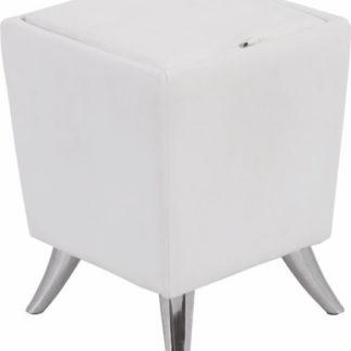 Tempo Kondela Taburet DARS NEW - bílá + kupón KONDELA10 na okamžitou slevu 3% (kupón uplatníte v košíku)