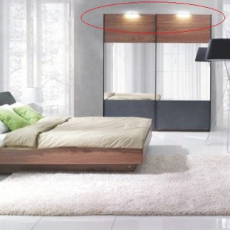 Tempo Kondela LED osvětlení 2 bodové REKATO + kupón KONDELA10 na okamžitou slevu 3% (kupón uplatníte v košíku)