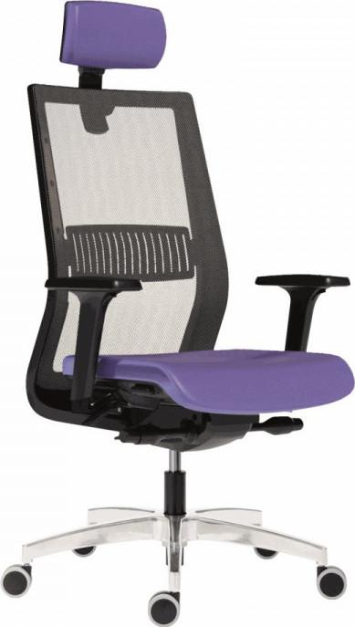 Antares Kancelářská židle 1990 SYN TITAN MESH ALU PDH