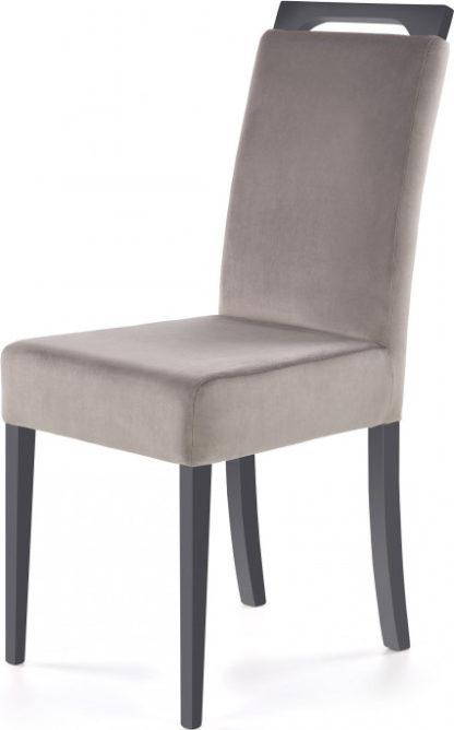 Halmar Jídelní židle CLARION - grafit/Riviera 91